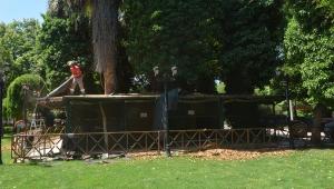 Orta Park'taki mini hayvanat bahçesi kapatıldı VİDEO