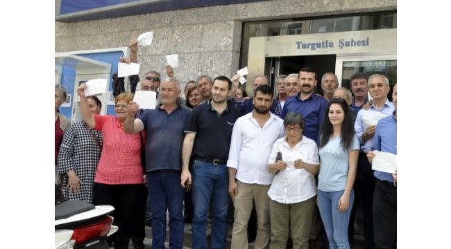 Turgutlu'da CHP'den Ekrem İmamoğlu'na destek çağrısı