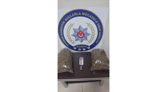 3'üncü sınıf emniyet müdürü, uyuşturucudan gözaltında