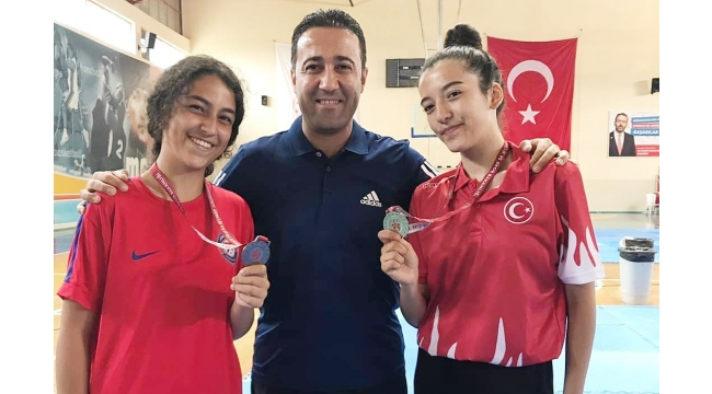 Akbey Akademi sporcularından gururlandıran başarı
