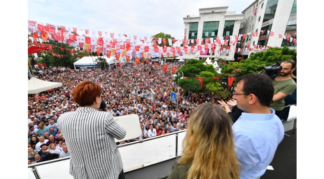 Ekrem İmamoğlu'ndan Cumhurbaşkanı Erdoğan'a