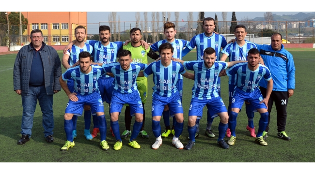 Esnafspor, 1.Amatör Küme için play off maçında!