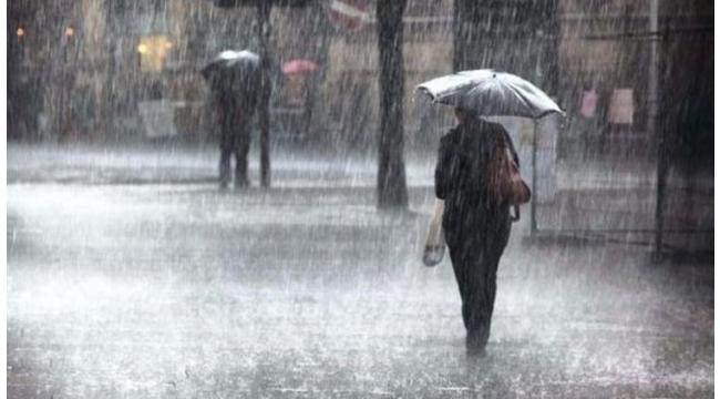 Meteoroloji'nden kuvvetli gökgürültülü sağanak yağış uyarısı