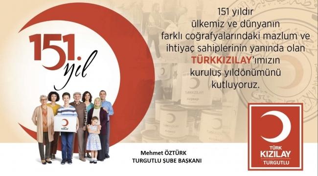 Öztürk: 'Türk Kızılayı yaralıya kan, hastaya ilaç, yoksula aş, öğrenciye burs oldu'