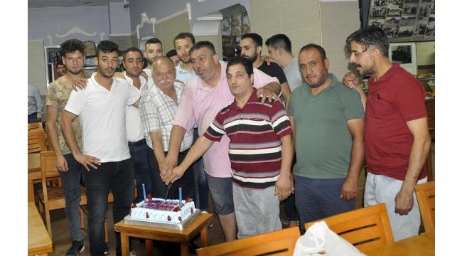 Sevenler Lokantasından Esnafspor'a yemek jesti