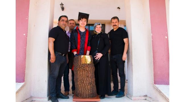 TOKİ İlköğretim'de coşkulu karne töreni ve geri dönüşüm bilinci