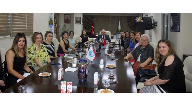 Manisa Kadın Girişimciler İcra Komitesi TUTSO'nun ev sahipliğinde bir araya geldi