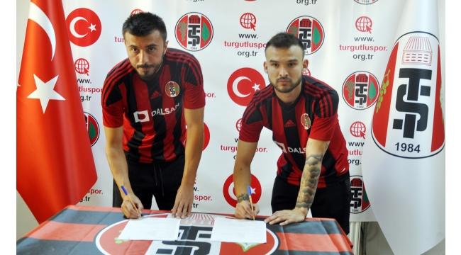 Mehmet Kuruoğlu ve Yiğit Yöney Turgutluspor'da