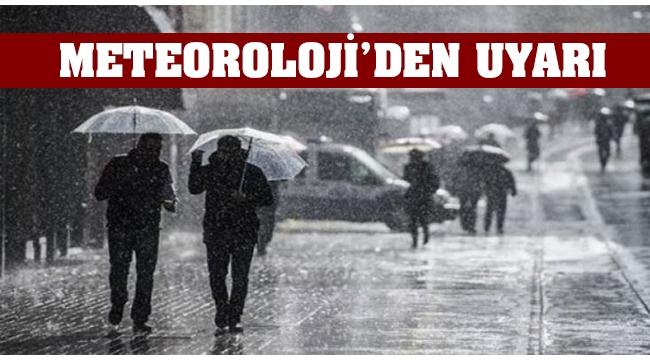 Meteoroloji yine uyardı. Kuvvetli Yağışlara Dikkat!