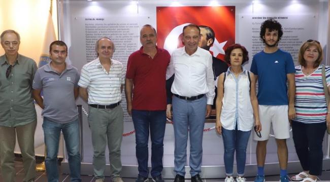 TURÇEP Heyetinden, Belediye Başkanı Çetin Akın'a ziyaret