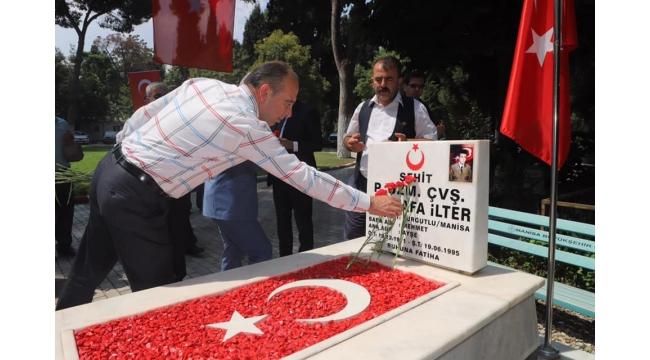 Turgutlu'da şehitler anıldı