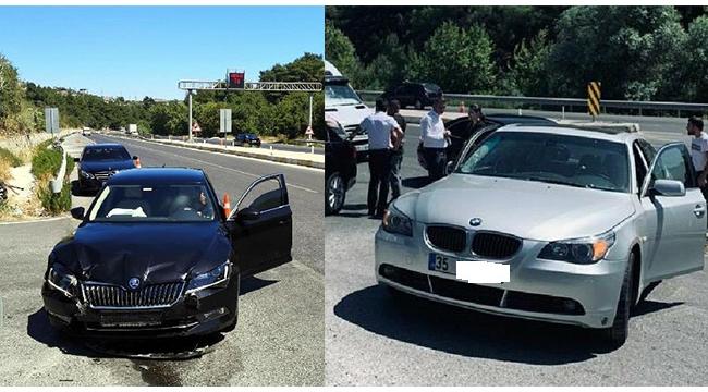 AK Parti'li iki Manisa milletvekili kazada yaralandı