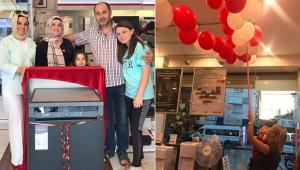 Arçelik İsmail Özşirin'de 'Balon' kampanyasının ödülleri sahiplerini buldu
