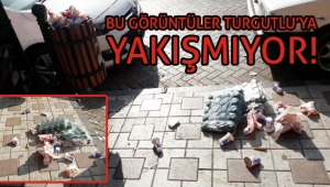 Bu görüntüler Turgutlu'ya yakışmıyor!