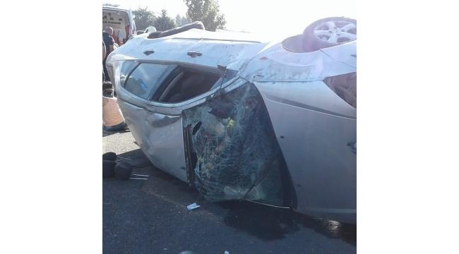 Gökkaya'da trafik kazası: 2'si çocuk 6 yaralı