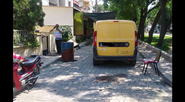 Kargo aracının çarptığı yaşlı adam yaralandı