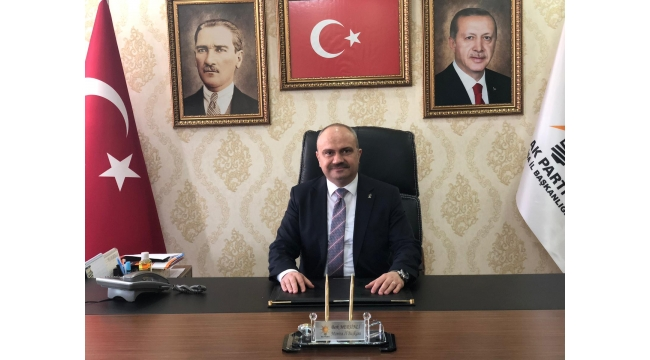 İl Başkanı Mersinli'den 30 Ağustos mesajı