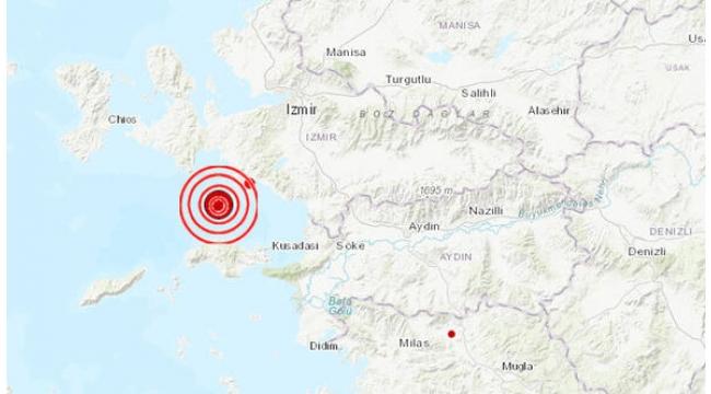 Korkutan deprem; 4.8... Turgutlu'da da hissedildi