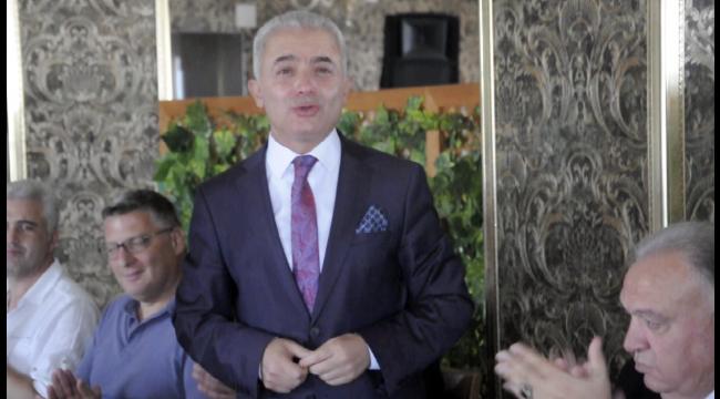 Turan, TUTSO'nun veda yemeğinde gözyaşlarına hakim olamadı (VİDEO)