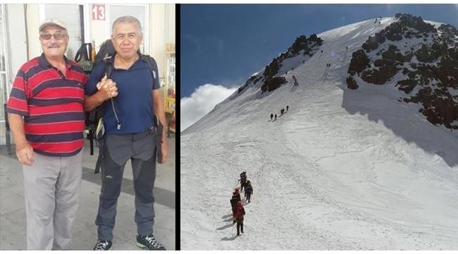 Turdak sporcusu Gürcistan'daki Kazbek Dağı tırmanışına gitti
