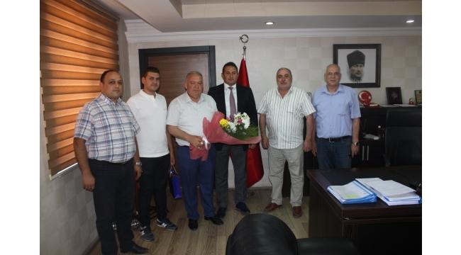 TUTSO'dan Emniyet Müdürü Demiray'a 'hayırlı olsun' ziyareti