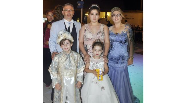 Yüksekkaya ailesinin mutlu günü