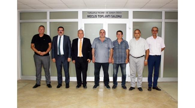 Adalet Komisyonu Başkanı Kuşçu, TUTSO'yu ziyaret etti