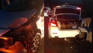 Akçapınar'da kaza: 2 yaralı