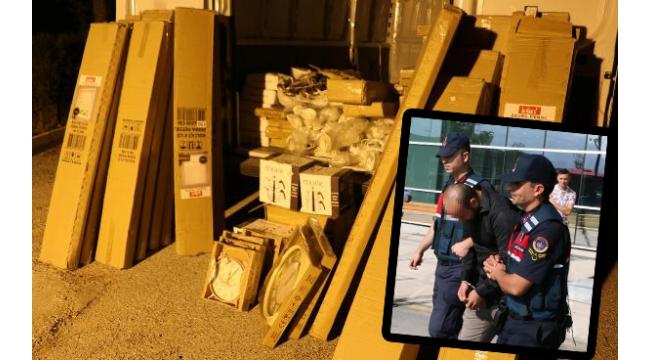 Çalıştığı çeyizciden çaldığı eşyalarla yakalandı