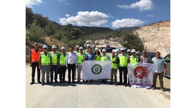 Spil Dağı'nda taş ocağı eylemi