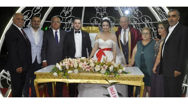 Turgutlu'nun milletvekilleri bu düğünde buluştu (VİDEO)