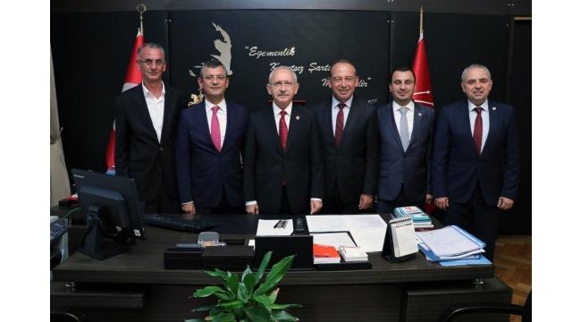 Başevirgen ve Akın'dan, CHP Lideri Kılıçdaroğlu'na ziyaret