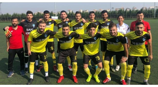 Esnafspor'dan Urganlıspor'a yarım düzine gol: 6-2