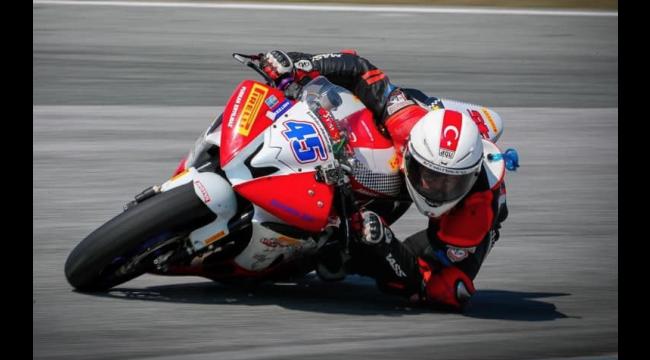 Milli motosikletçi Furkan, Bulgaristan'da zafer peşinde