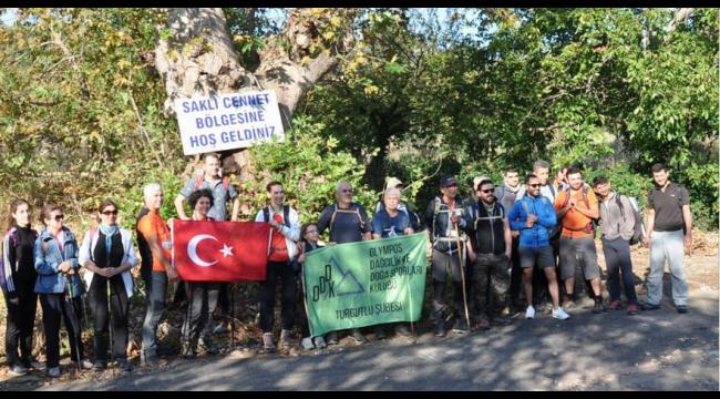 Olympos, sezona Yukarı Kızılca - Nazarköy parkuruyla başladı