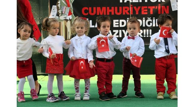 Sevgi Pınarım miniklerinden Cumhuriyete özel kutlama