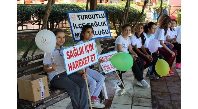 Turgutlu'da sağlıklı yaşam yürüyüşü