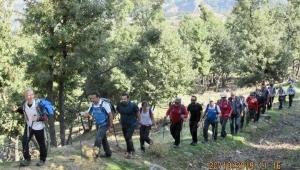 Zirve dağcıları Kavaklıdere – Horzum Keserler'deydi
