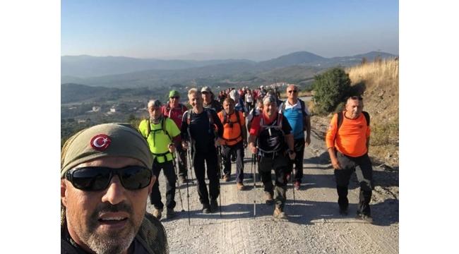 Zirve dağcıları Şirince'de sonbaharı yaşadı