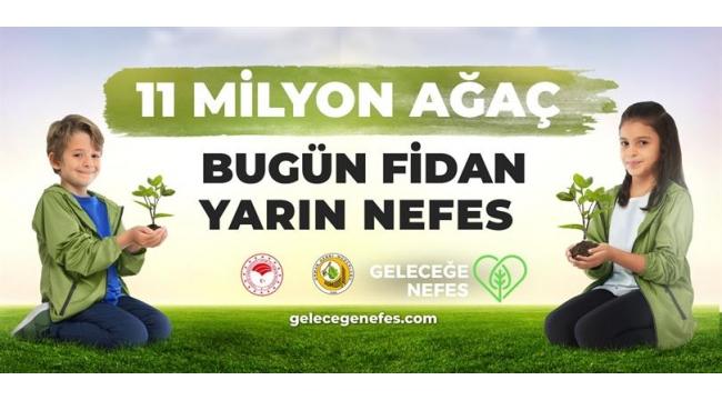 11 Kasım 11.11'de Haydi Turgutlu fidan dikmeye!