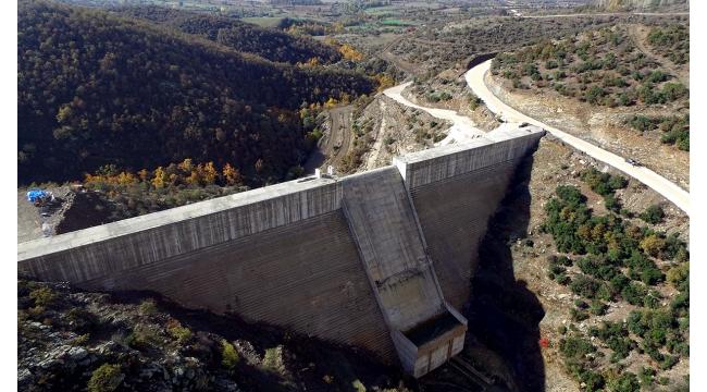 Ahmetli Kelebek Barajı su tutulmaya hazırlanıyor