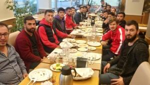 Balkaymak'tan Çıkrıkçıspor'a moral kahvaltısı