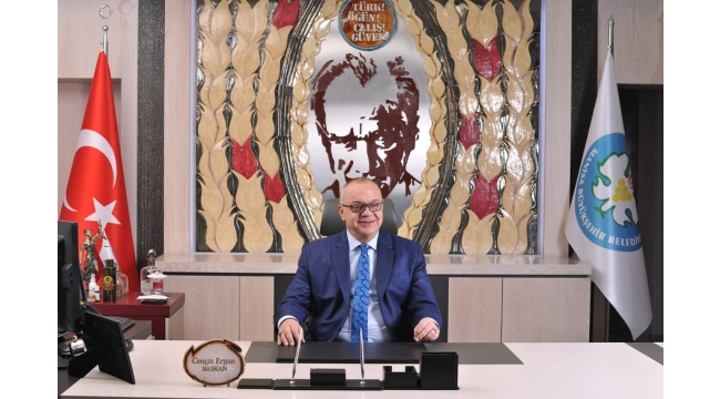 Başkan Ergün, Büyük Önderimizi Andı