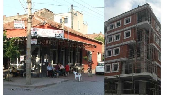 Bir zamanların CHP Turgutlu İlçe Teşkilatı binası