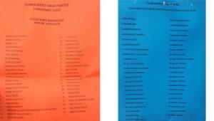 CHP Grup Başkanvekili Özel ve listesi delege seçilemedi