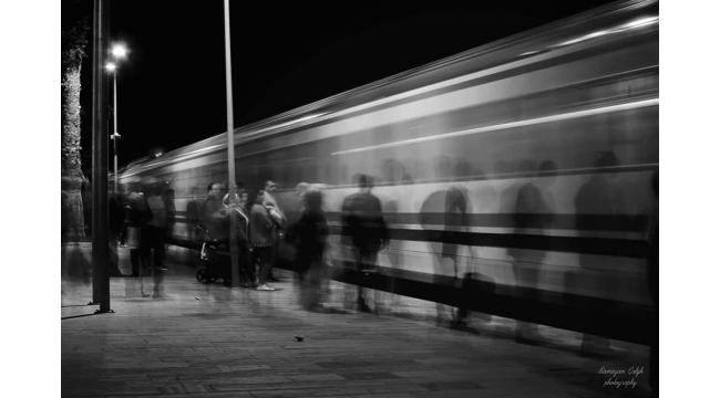 Kursiyerler Turgutlu Tren Garı'nı fotoğrafladı