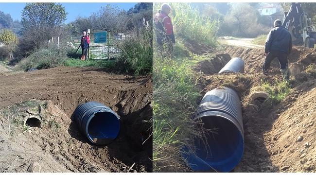 MASKİ'den Yukarı Bozkır'da su taşkınlarını önleyecek çalışma