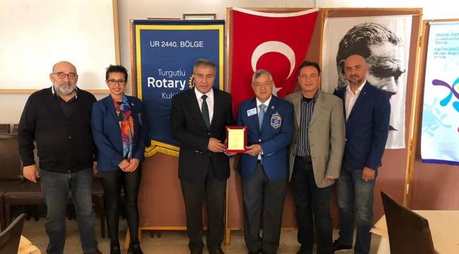 Rotary Meslekte Başarı Ödülü Yaşar Kocatürk'e layık görüldü