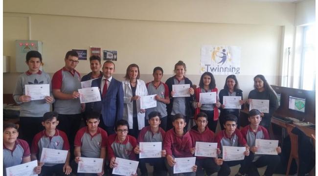 Şehit Anıl Barış Çetin MTAL 'Avrupa Kodlama Haftası'na katıldı