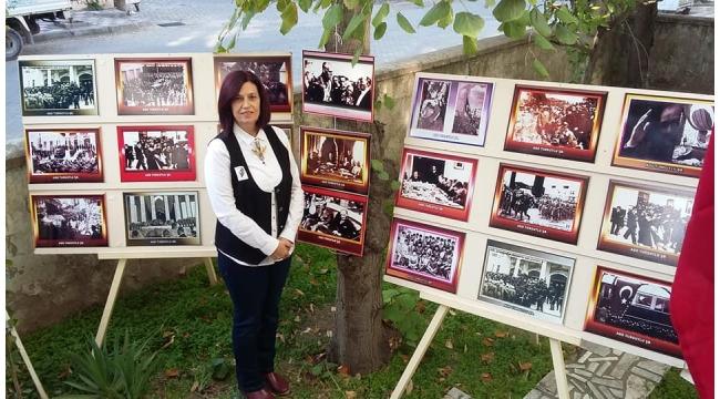 Turgutlu ADD'den 'Atatürk' sergisi ve lokma hayrı